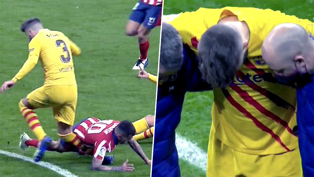 Barcelona confirma las lesiones de Piqué y Sergi Roberto