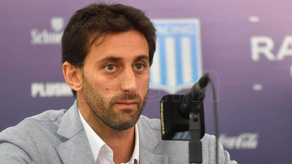 """""""No comparto el modelo y las ideas del club del presidente"""", explicó Milito."""