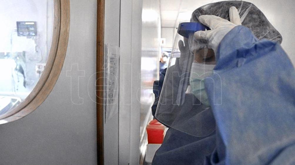 La cartera sanitaria indicó que son 3.559 los internados en unidades de terapia intensiva