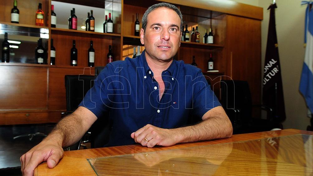 """""""El sector vitivinícola tiene una característica diferente a otros sectores, que es el haber aprendido a trabajar en forma conjunta lo público y lo privado"""", dijo Martín Hinojosa."""