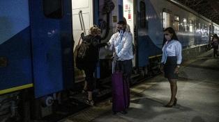 El tren llegó a Mar del Plata, luego de ocho meses de inactividad por la pandemia