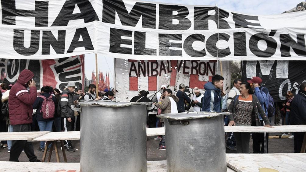 Las organizaciones señalaron que el Gobierno de Larreta lanzó un recorte sobre la asistencia a los comedores populares.
