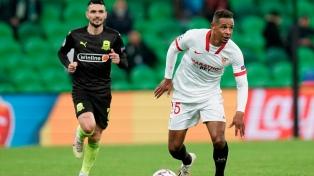Sevilla, con Ocampos, venció al Krasnodar