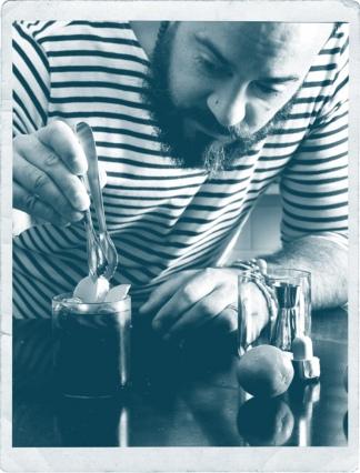 El San Lucas, su primer trago: ron con canela, lima con menta y gaseosa de lima limón.