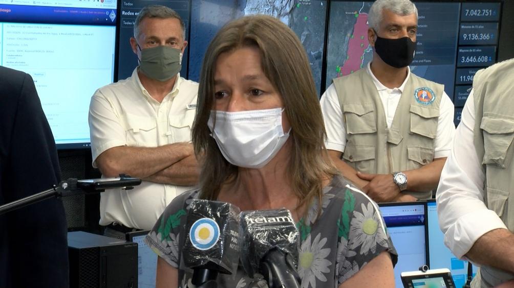 La denuncia penal fue presentada el viernes contra Larreta y Santilli