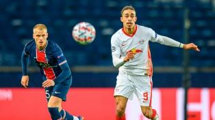 Paris Saint Germain  venció con lo justo al Leipzig