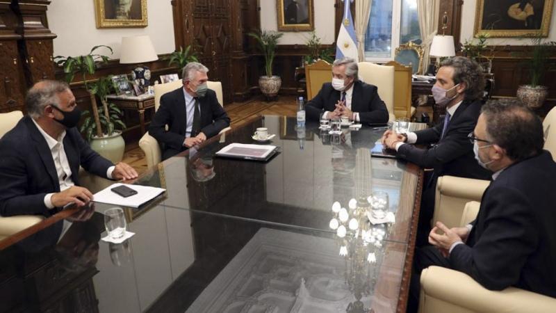El Presidente recibió a representantes de empresa exportadora de alimentos