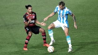 Racing Club y Flamengo empataron por la ida de los octavos de final