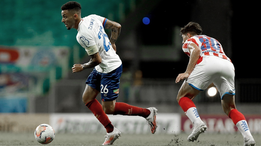 Bahía se llevó el primero de los duelos ante Unión, por una de las llaves de octavos de final (Foto: @ECBahia/Felipe Oliveira)