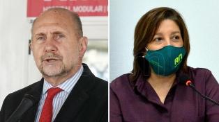 Perotti y Carreras, aislados por positivo en coronavirus del ministro de Seguridad Saín