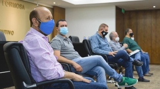 """Insfrán ratificó """"la política sanitaria"""" contra el coronavirus tras el episodio con las concejalas"""