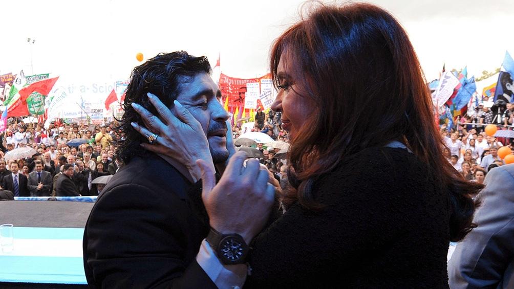 Cristina Fernández destacó el