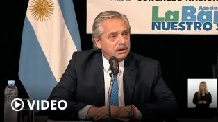 """Alberto Fernández: """"Esta vez los acreedores son los que están pagando el ajuste; no la gente"""""""