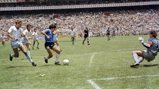 #GritaloporD10S: el homenaje de AFA a Maradona, por el mejor gol de todos los tiempos