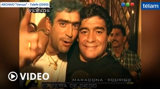 El día que Rodrigo le cantó al Diego