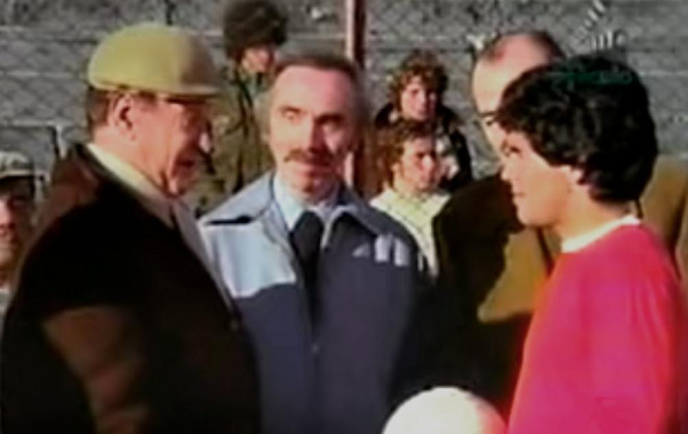Con Sandrini, dirigido por Palito Ortega.