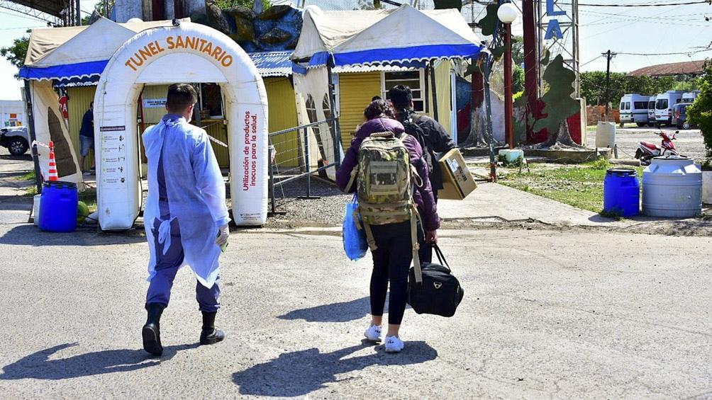 Los formoseños que ingresan cumplen aislamiento en alguno de los 70 centros dispuestos, entre escuelas, hoteles y clubes.