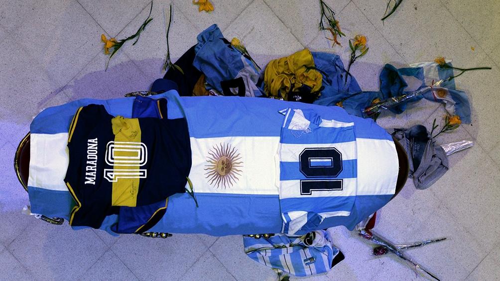 Diego Armando Maradona es velado desde las 6.17 en la Casa Rosada.