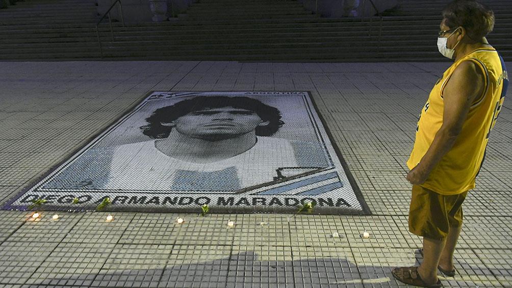 Maradona murió el miércoles en una casa de un country de Tigre producto de una cardiopatía severa
