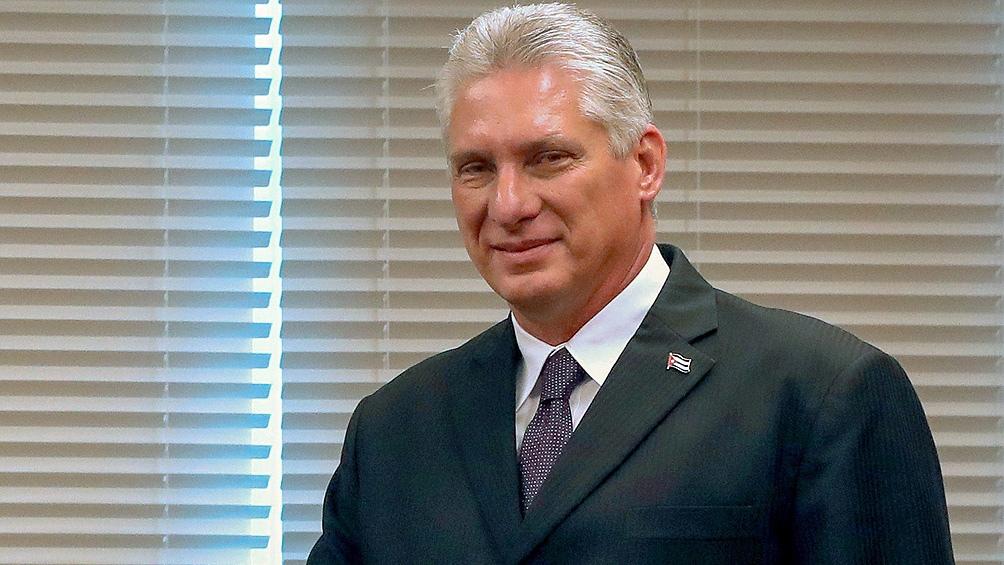 Miguel Díaz Canel es el nuevo primer secretario del PC