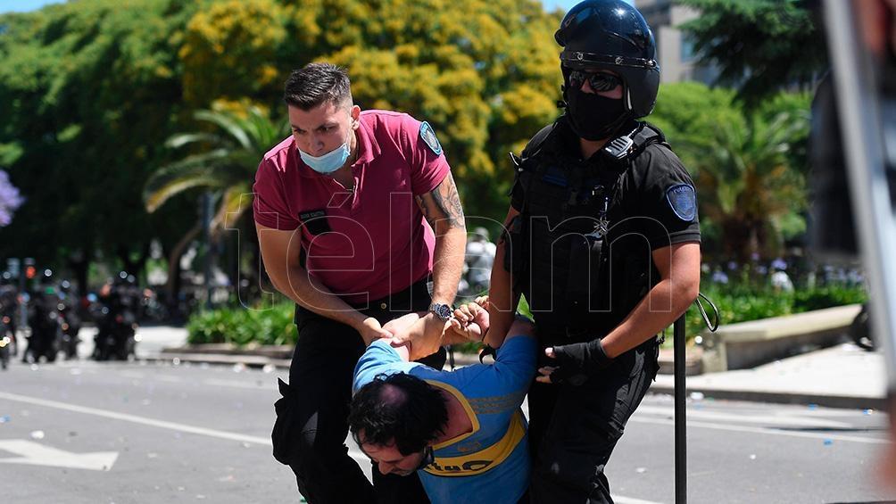Se han registrado múltiples denuncias en represiones a la protesta social o desalojos.