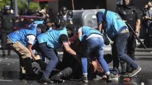 """Pietragalla: """"Estamos cansados de la violencia institucional de la Policía de la Ciudad"""""""