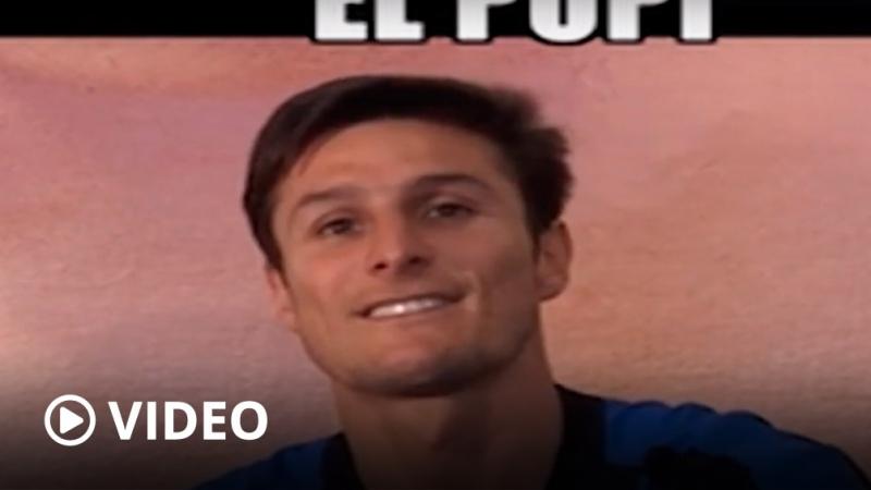 Zanetti homenajeó a Maradona con un ringtone del gol a los ingleses