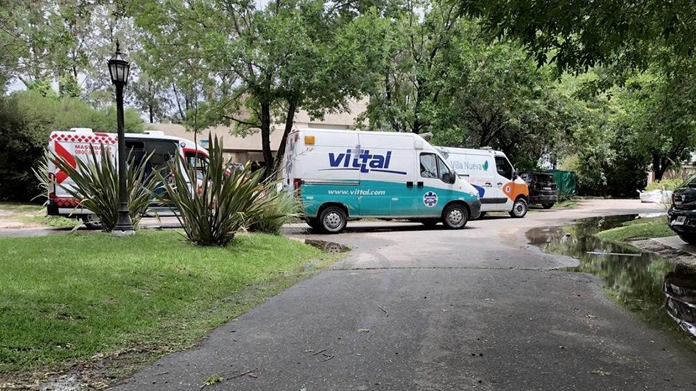 La ambulancia tardó 11 minutos en llegar a la casa de Maradona.