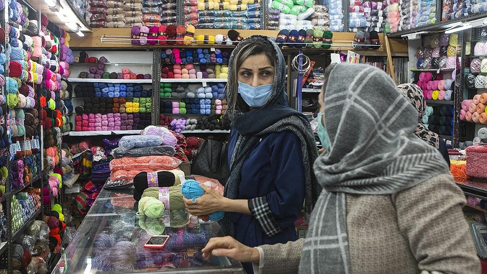 Irán acumula más de 1,06 millones de casos