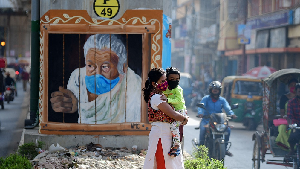 India es el tercer país del mundo más afectado