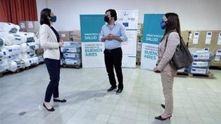 La provincia de Buenos Aires recibió una donación de insumos médicos de la Unión Europea