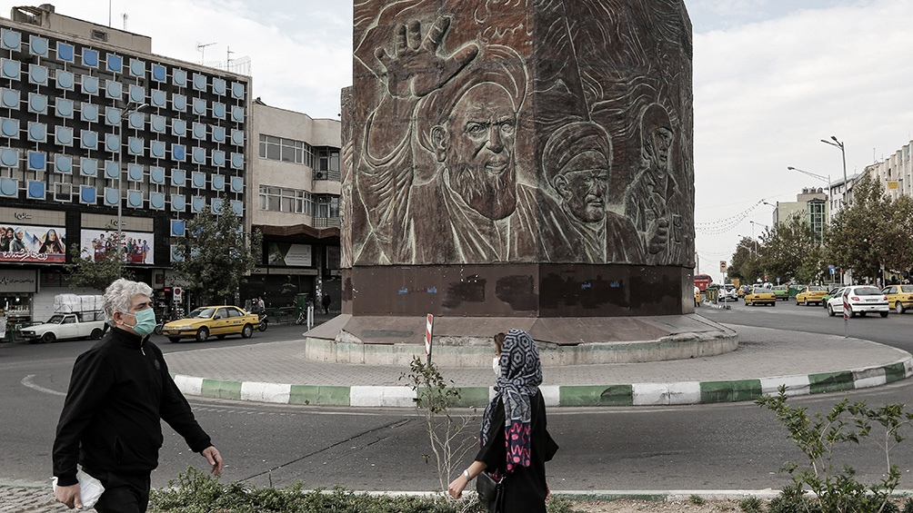 A partir del 21 de noviembre se impusieron restricciones en muchas ciudades de Irán.
