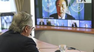 El Presidente firmó un memorando con la FAO para la cooperación conjunta contra el hambre