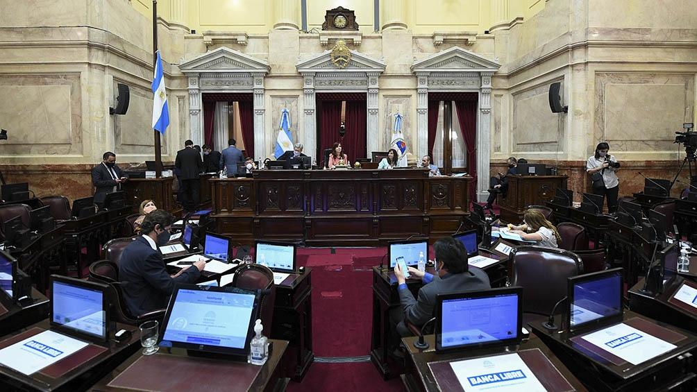 Cristina Fernández de Kirchner  presidió la sesión.
