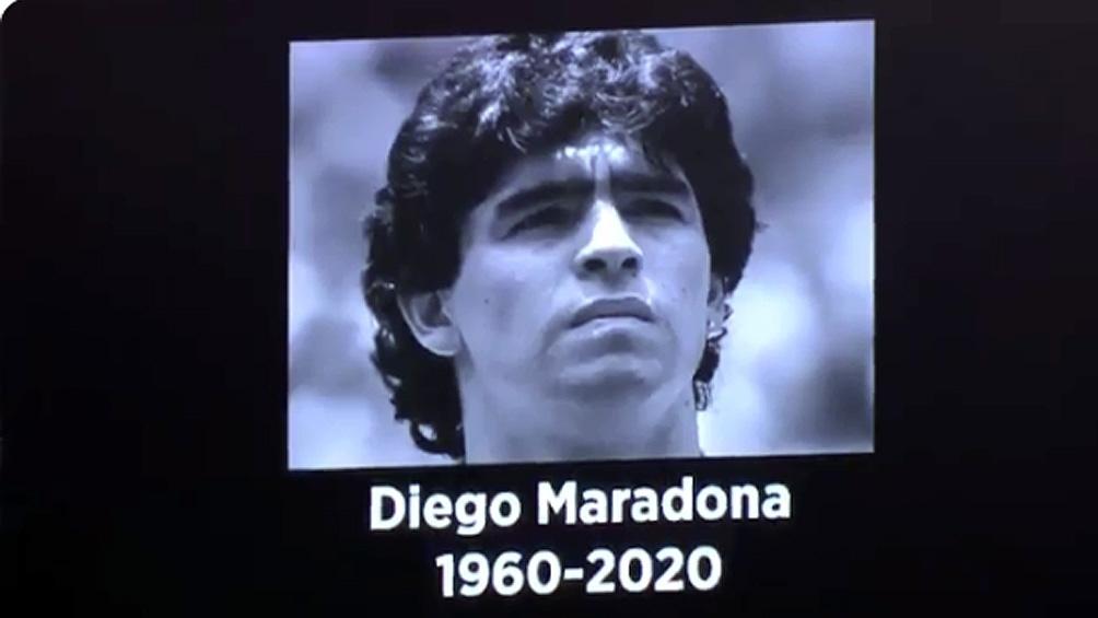 En Inglaterra homenajearon a Diego con su gol en México 86