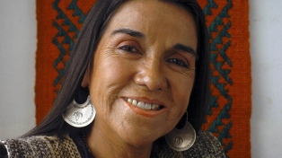 Distinguieron a la mapuche Luisa Calcumil como la artista más representativa de la región