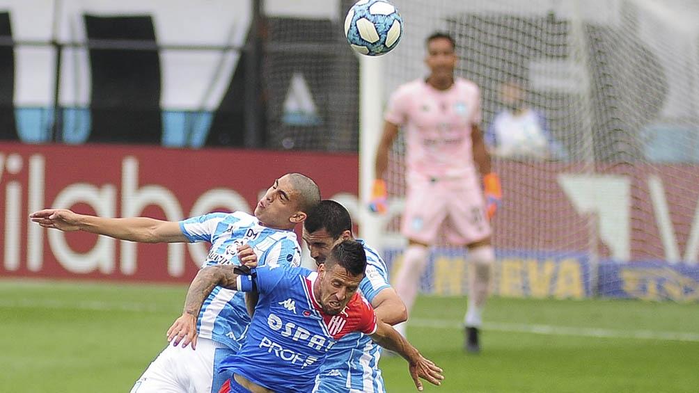 Racing vs. Unión de Santa Fe.