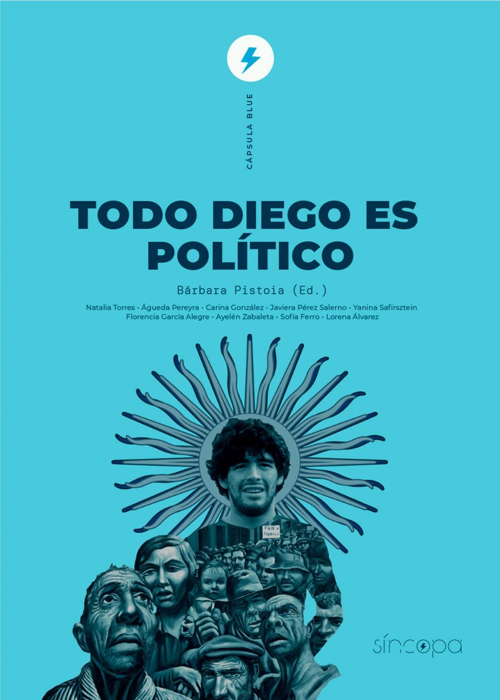 El libro apareció unas semanas antes de la muerte de Maradona.