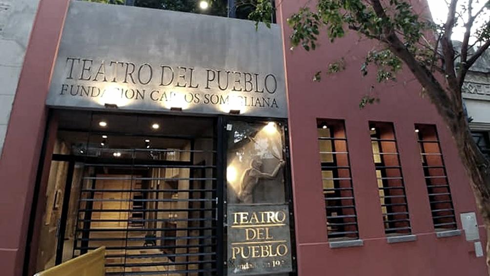 La sede del teatro en Abasto