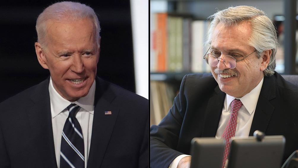 Alberto Fernández dialogó con Joe Biden, el presidente electo de los Estados Unidos