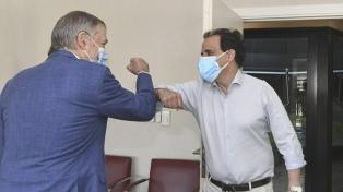 Schiaretti recibió al intendente de Río Cuarto, reelecto el domingo