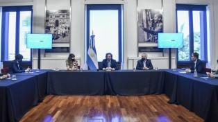 Santiago Cafiero analizó la política social y sanitaria con intendentes de Jujuy