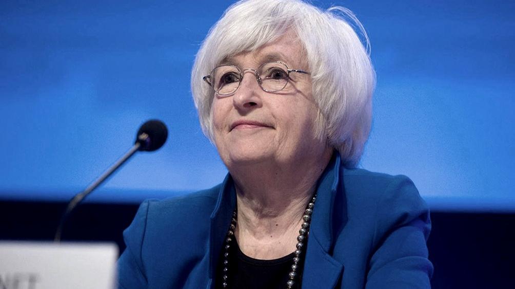 """""""Las tasas más bajas han facilitado"""" que el gobierno federal cubra los costos de intereses de la deuda, dijo Yellen"""