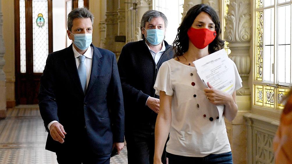 Sergio Massa y Máximo Kirchner buscan consensos