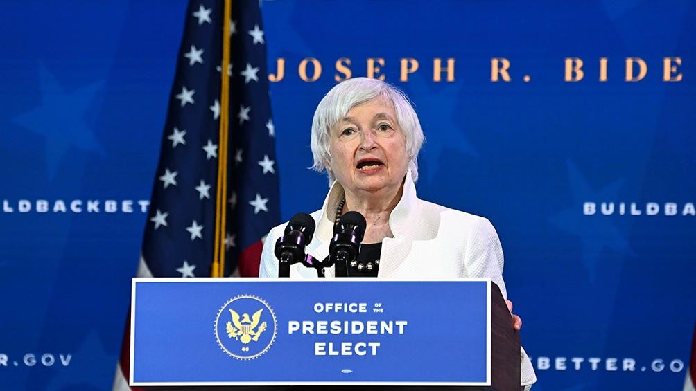 Janet Yellen irá a la cabeza como secretaria del Tesoro
