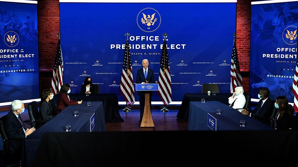 Biden presenta al equipo con el que espera sacar a EEUU de la crisis económica