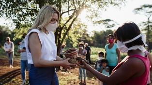 Yacyretá inició obras de agua potable en municipios de Misiones, impulsadas por la Primera Dama