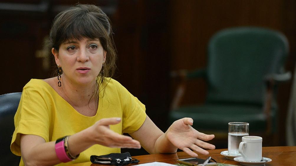 Diretora nacional de Economia, Igualdade e Gênero do Ministério da Economia, Mercedes D´Alessandro