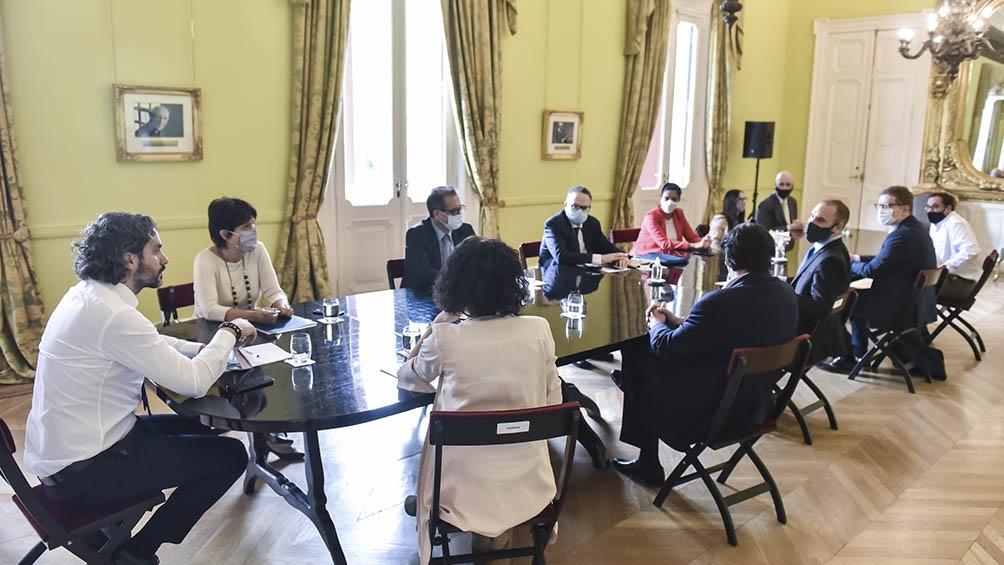 Gabinete económico (Foto de archivo)