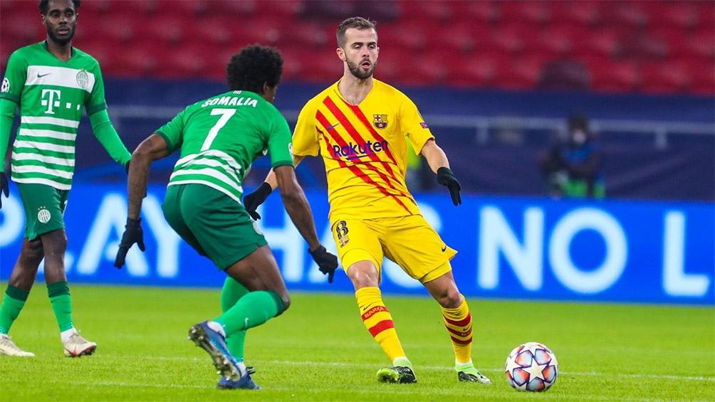 Barcelona, sin Lionel Messi, ganó en Hungría y se encamina a adjudicarse el Grupo G (Foto: @FCBarcelona)